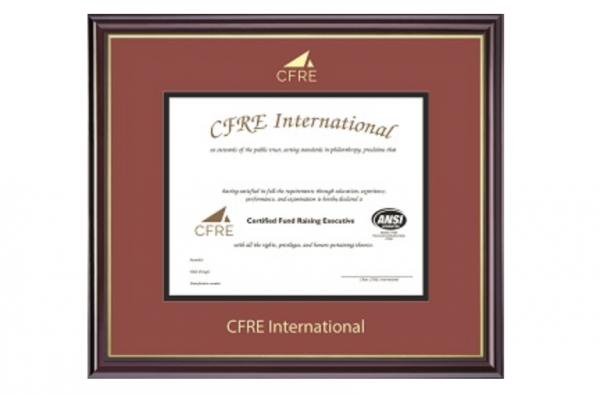 CFRE Certificate