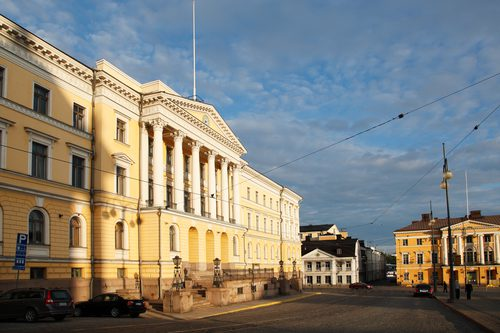 Finnish Government Palace