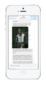 Facebook Messenger Chat Screen