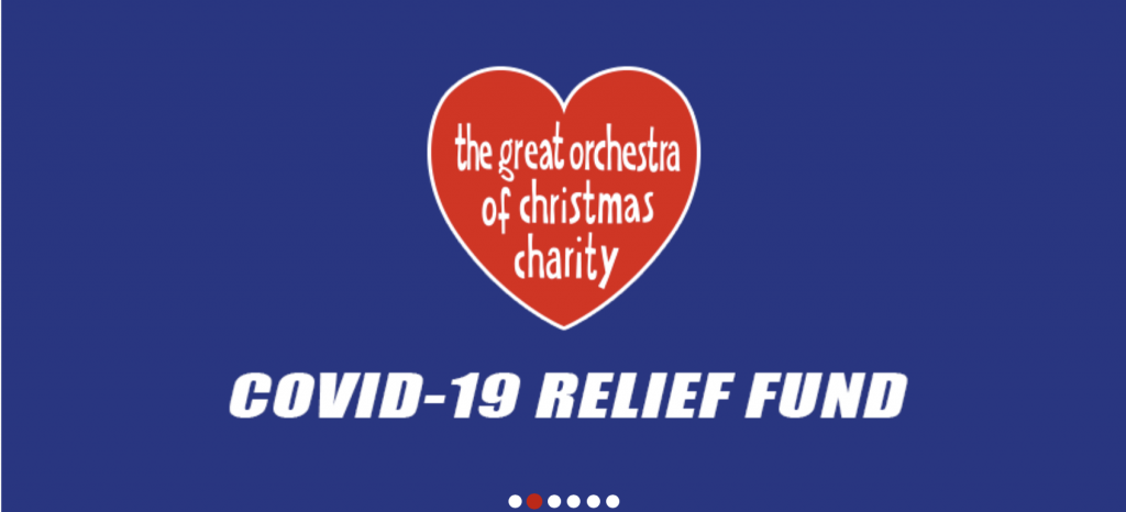 Great Orchestra of Christmas Charity Covid-19 Relief Fund