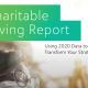 Blackbaud Charitable Giving Report
