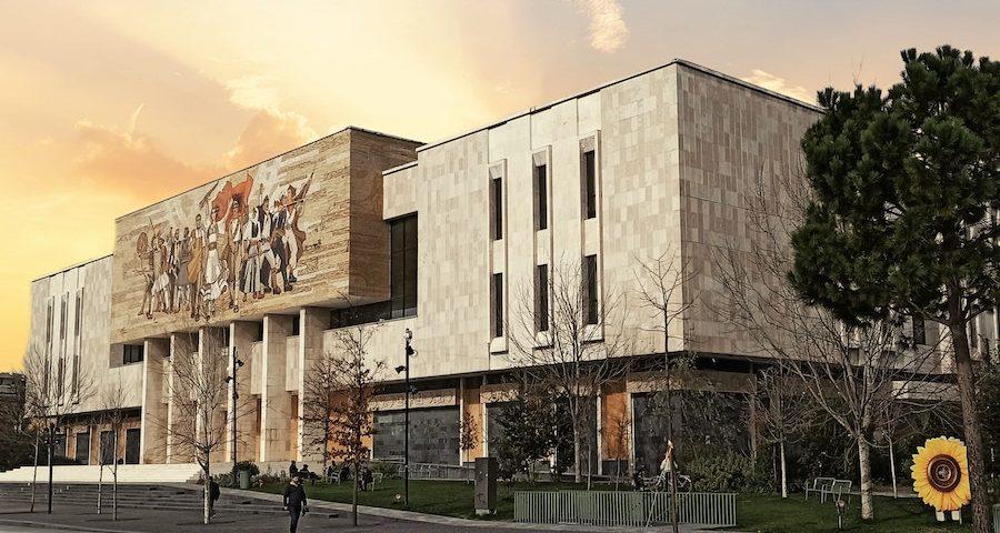 Muzeu historik kombëtar, Albania
