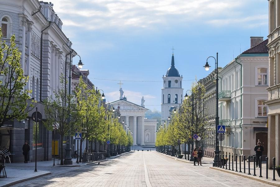 Lithuanian street